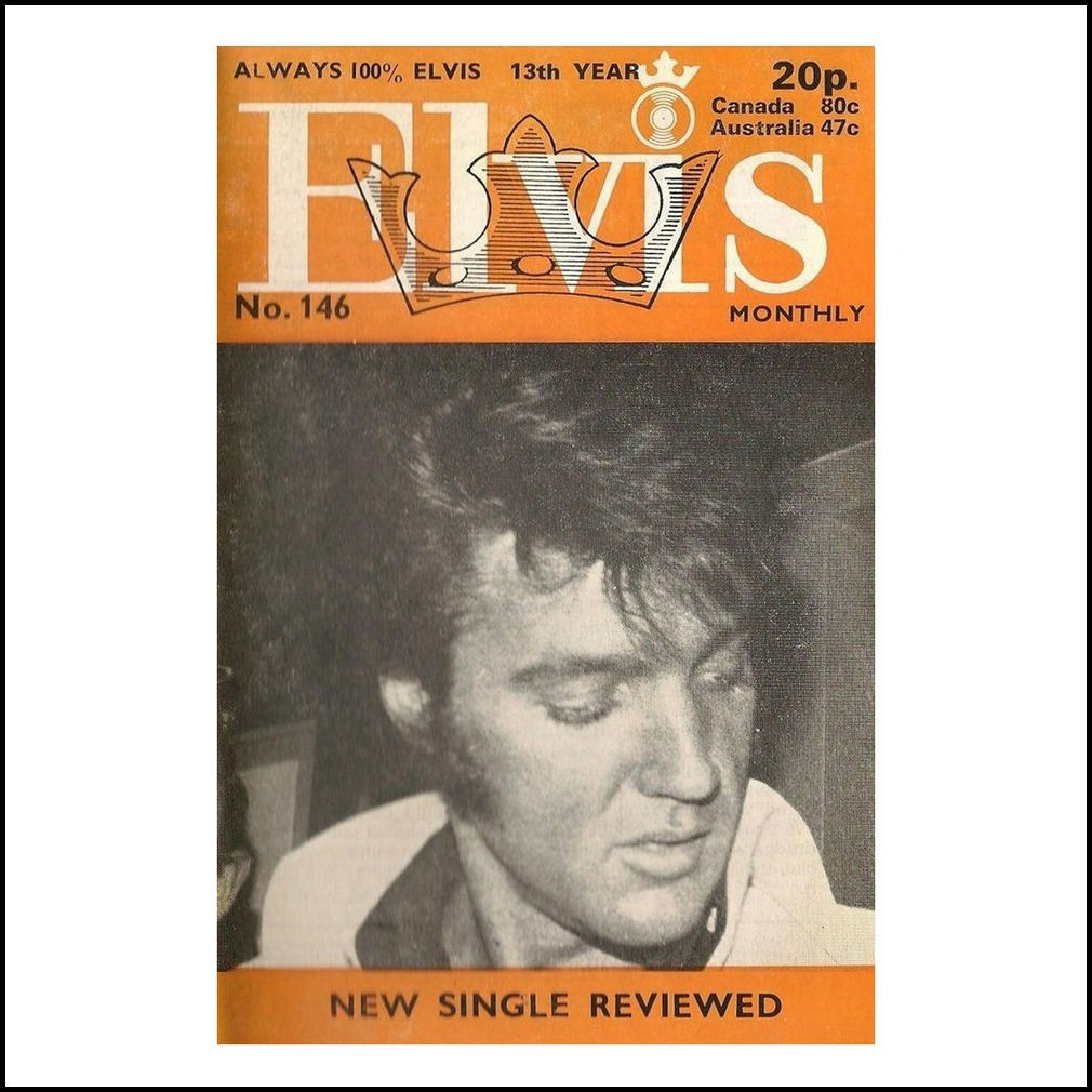 Elivs Monthly March 1972