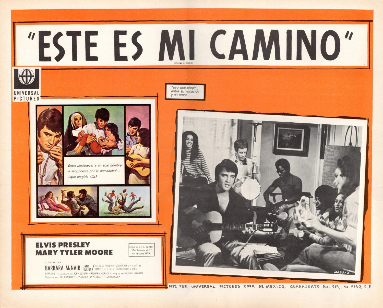 Esta Es Mi Camino - Mexico lobby card 1