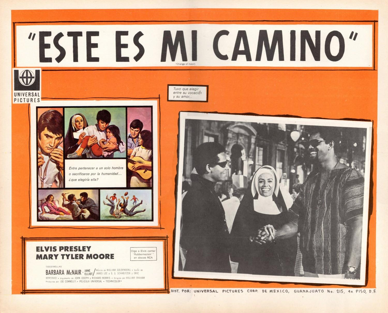 Esta Es Mi Camino - Mexico lobby card 2