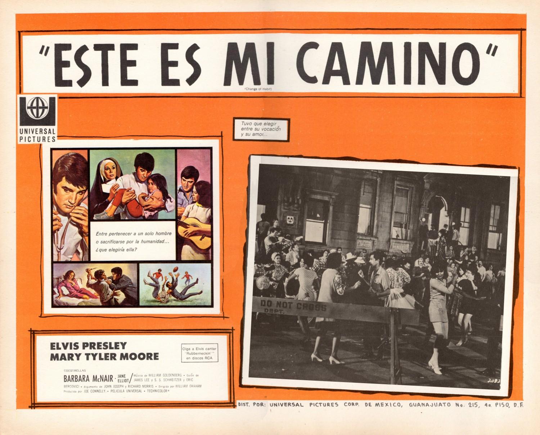 Esta Es Mi Camino - Mexico lobby card 3