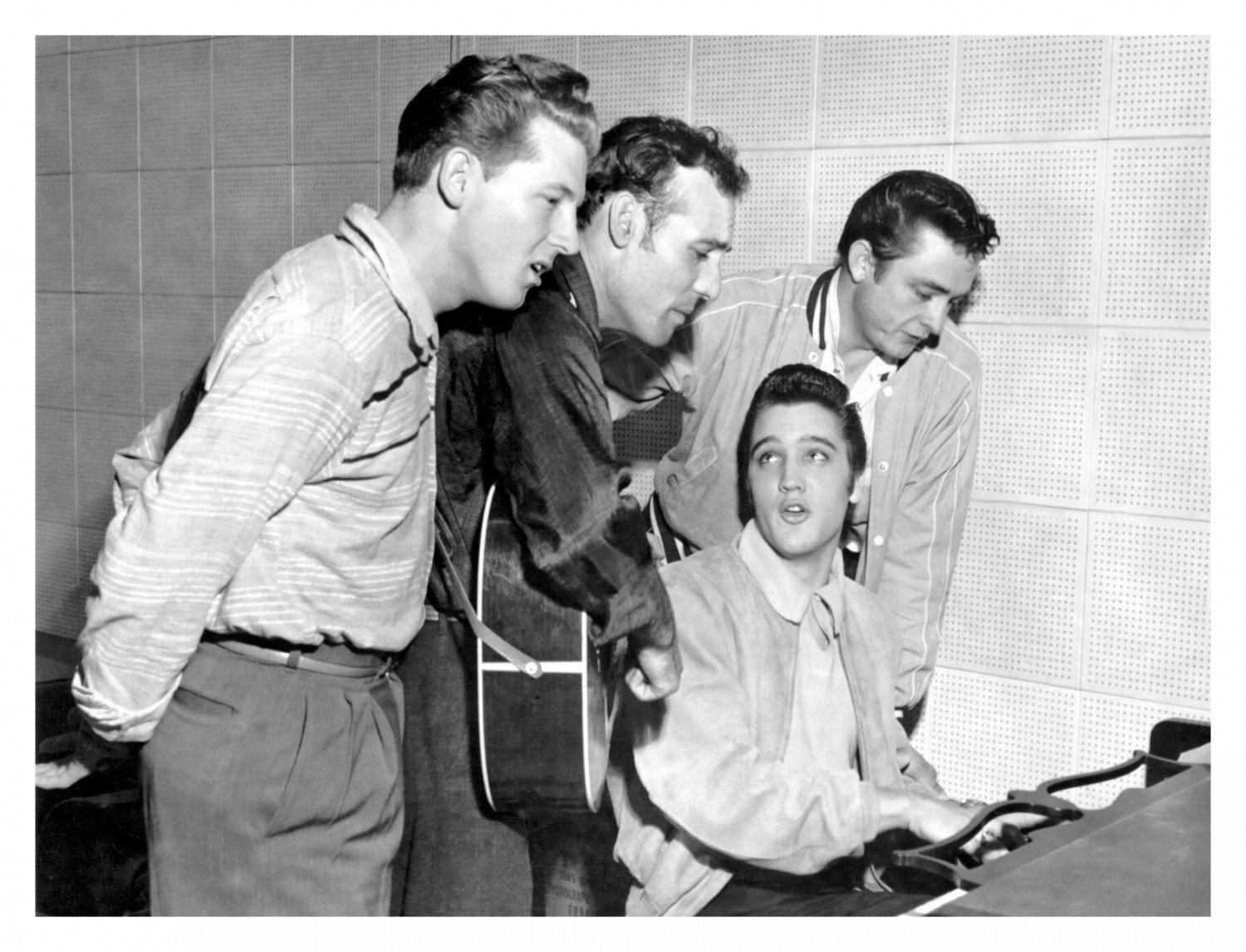 George Pierce - Sun Records - December 4, 1956 (02a)