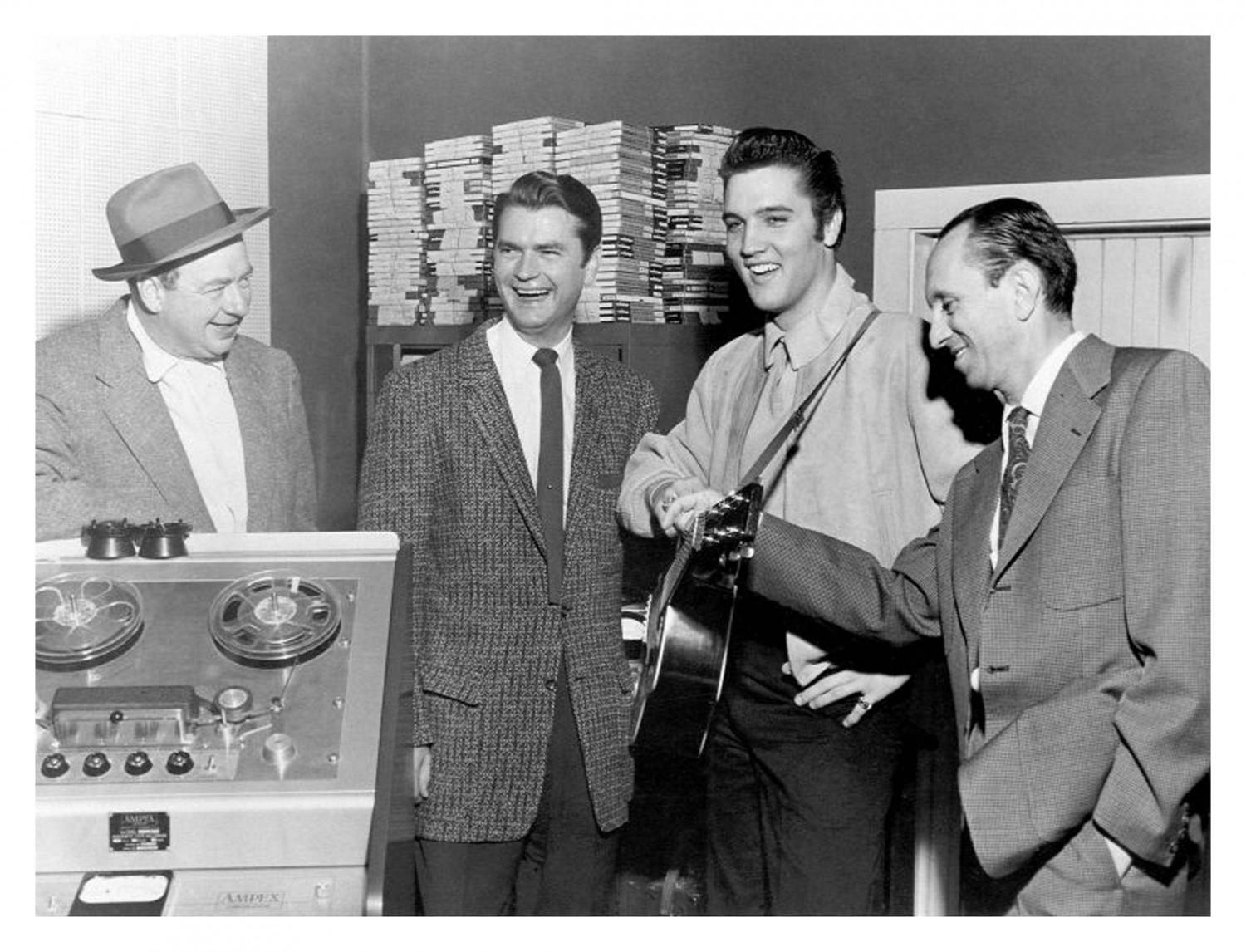 George Pierce - Sun Records - December 4, 1956 (08a)