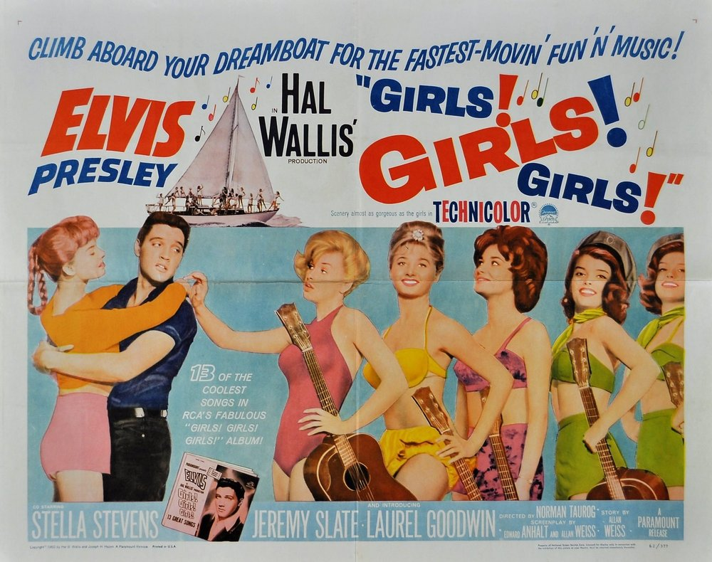 11 Girls! Girls! Girls! - USA half sheet
