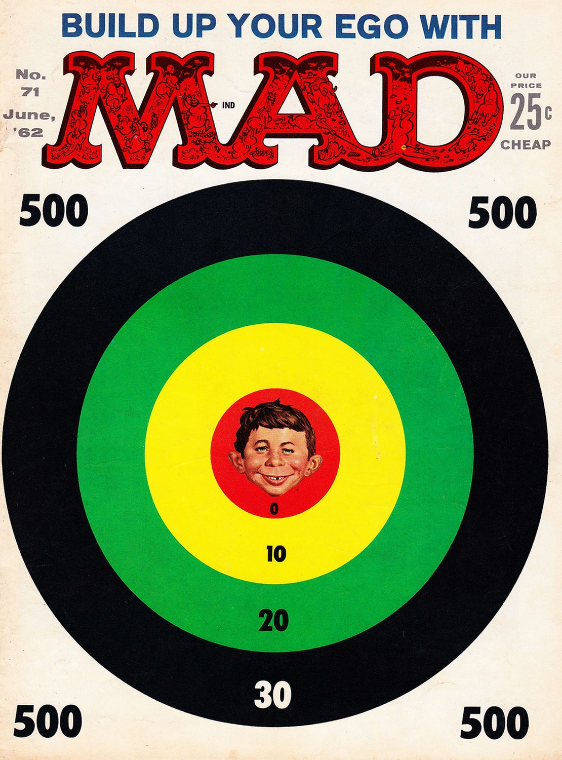 Mad nr. 71 (June 1962) cover - kopie