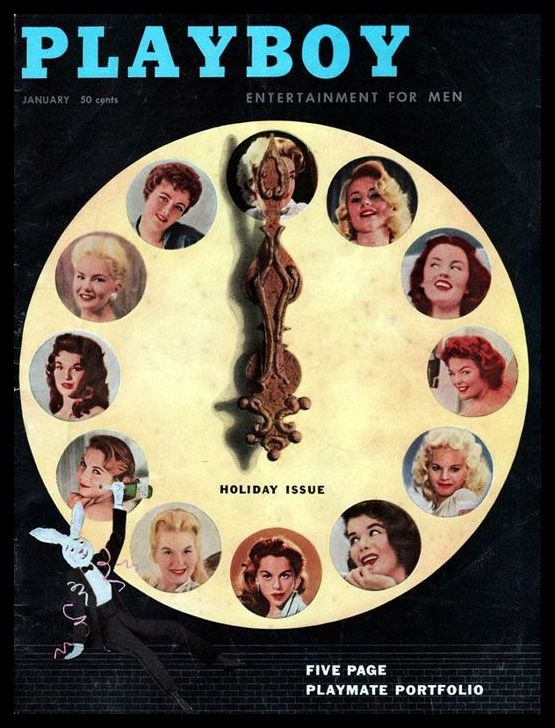 111 playboy january 1957