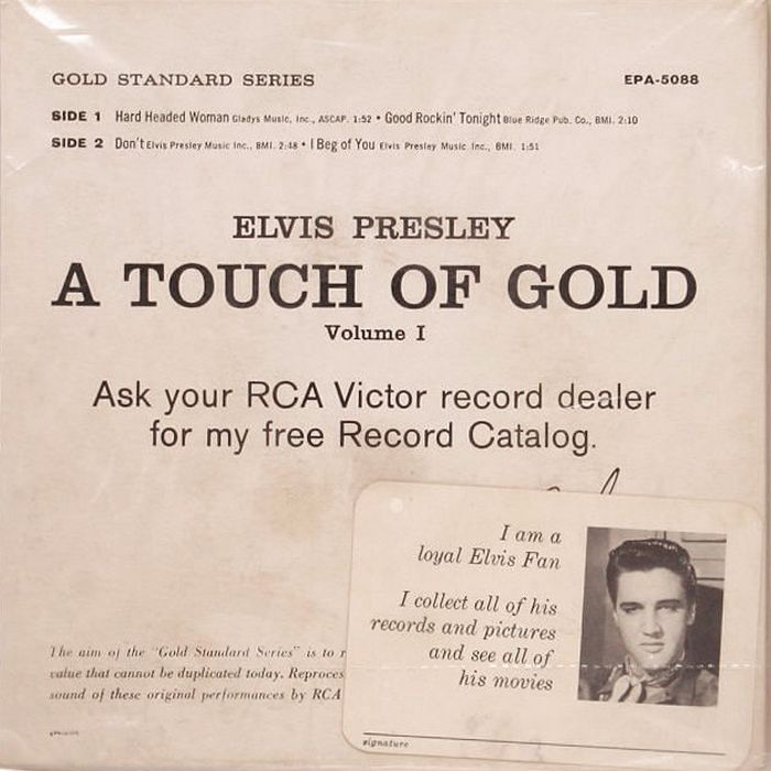 1959-04 A Touch Of Gold EP back