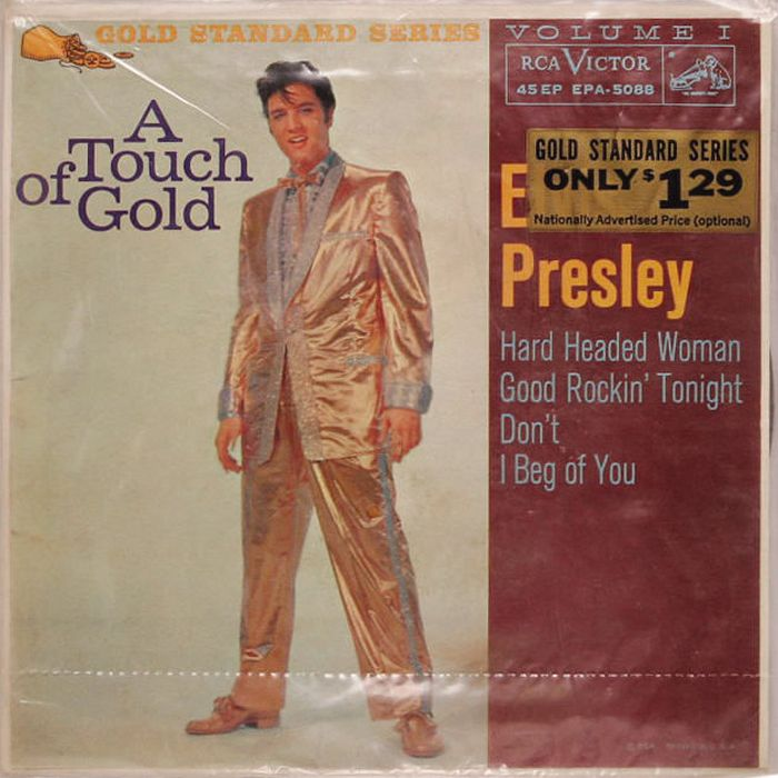 1959-04 A Touch Of Gold EP front