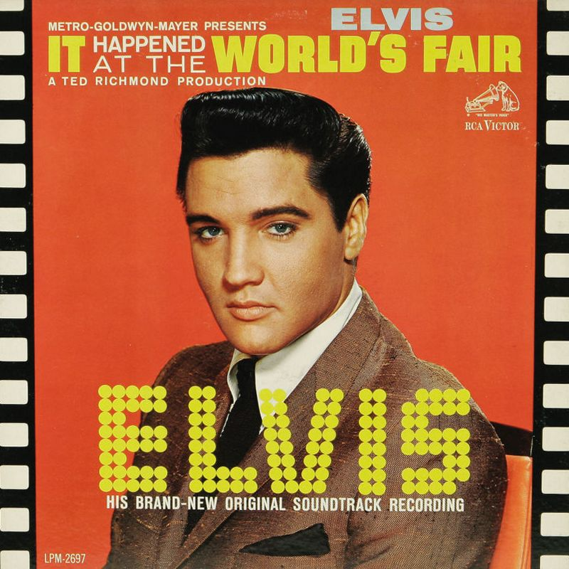 1963-04 It Happened At The World's Fair LPM