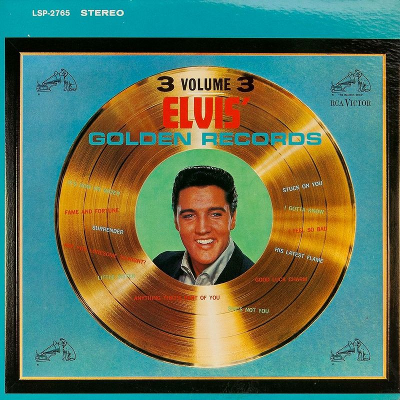 1963-08 Elvis' Golden Records, Volume 3 LSP