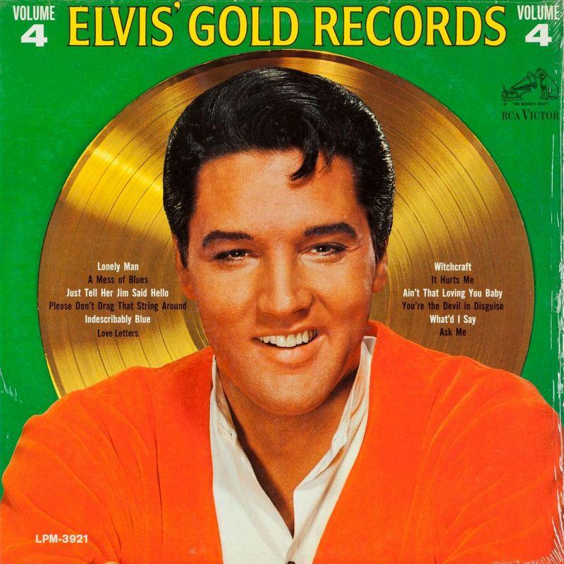 1968-01 Elvis' Gold Records, Volume 4 LPM