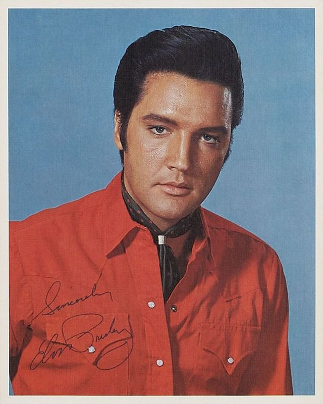 1969-06 From Elvis In Memphis photo (8x10)