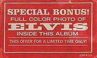 1969-06 From Elvis In Memphis sticker
