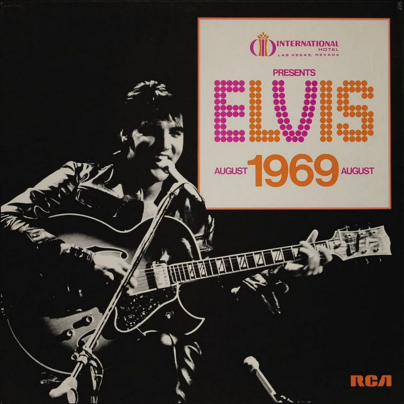 1969-07 International Hotel, Las Vegas Nevada Presents Elvis, August 1969 (Box Set)