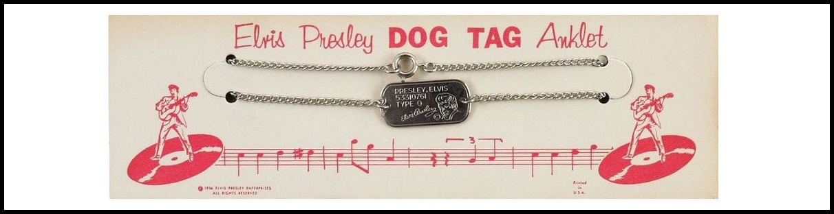 202 EPE 1958 Dog Tag Anklet