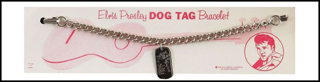 204 EPE 1958 Dog Tag Bracelet Lady's (gold)