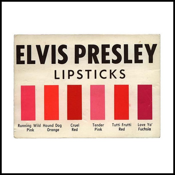 34 1956 EPE Lipstick color card