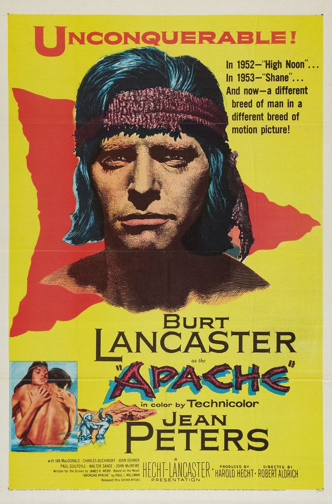Apache 1-sheet USA poster
