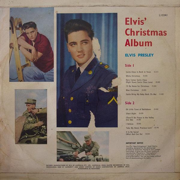 Elvis Christmas Album Vinyl.Elvis Worldwide Christmas Vinyl 1950 S 60 S Elvis