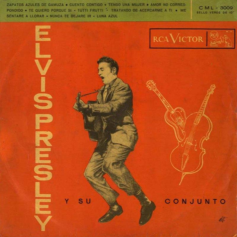 CML-3009 Elvis Presley Y Su Conjunto (Chile 10inch LP)
