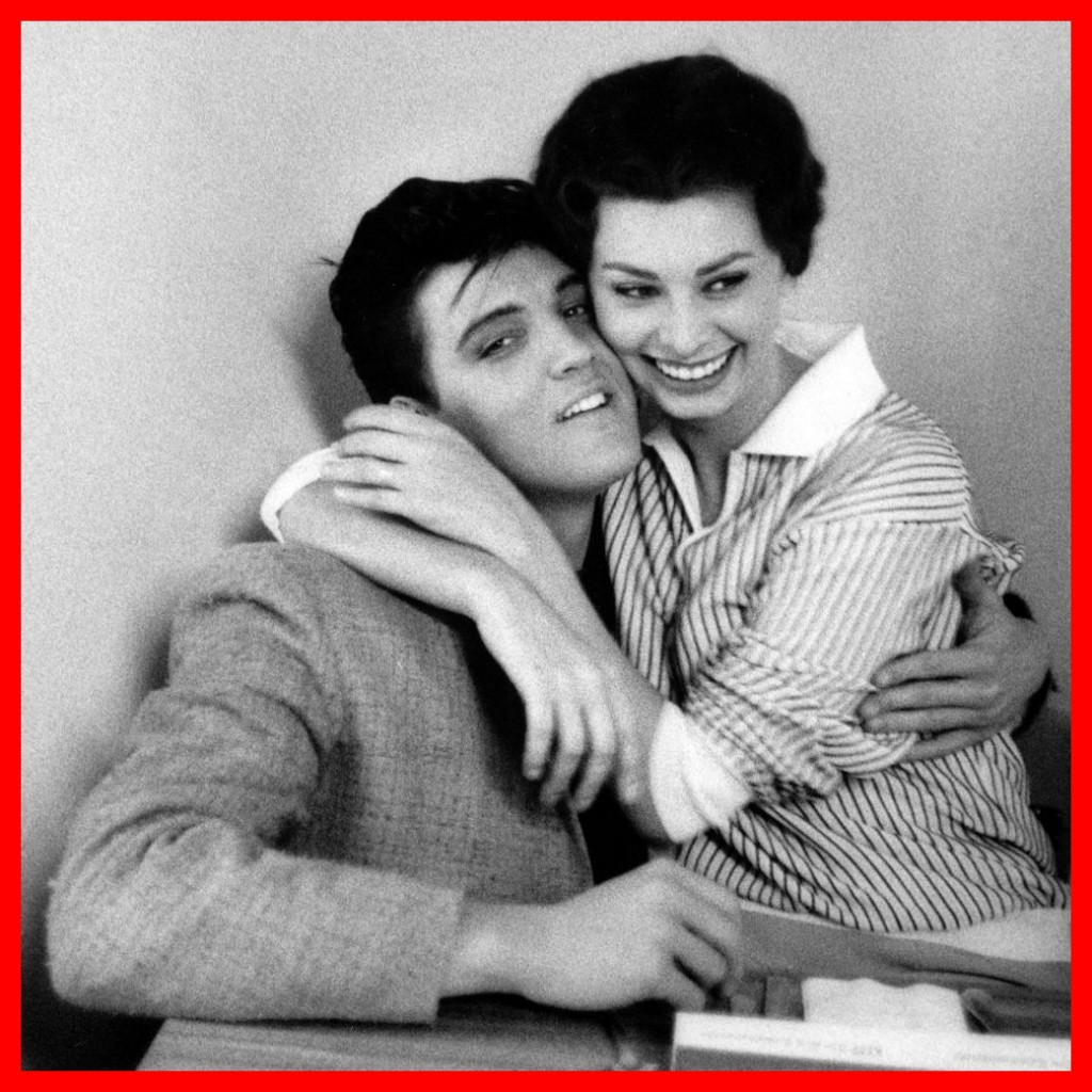 Elvis and Sophia 04 (february 1958, photo by Bob Willoughby)