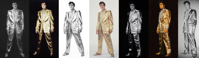 Gold Suit top