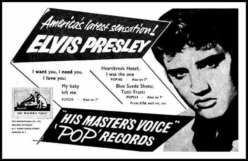 HMV 3 singles ad