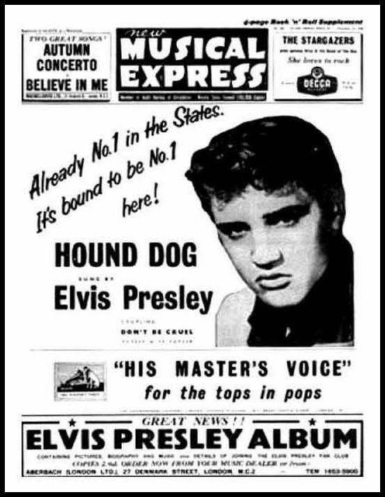 HMV NME Hound Dog