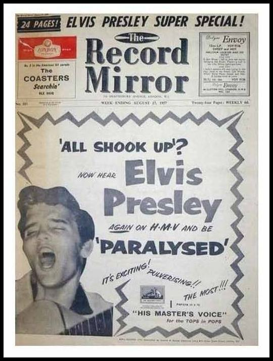 HMV Record Mirror Paralysed