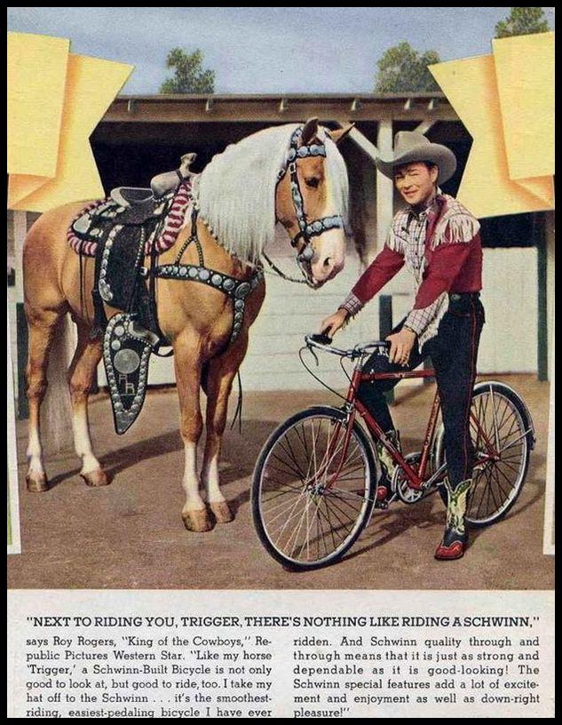 Schwinn Roy Rogers ad 02