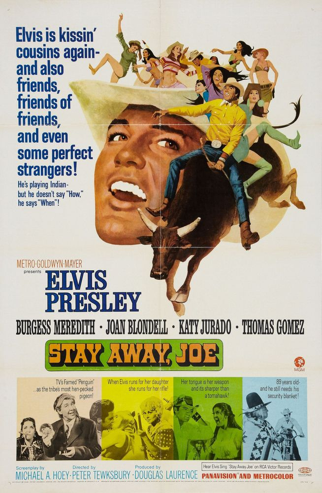 Stay Away, Joe - USA 1-sheet