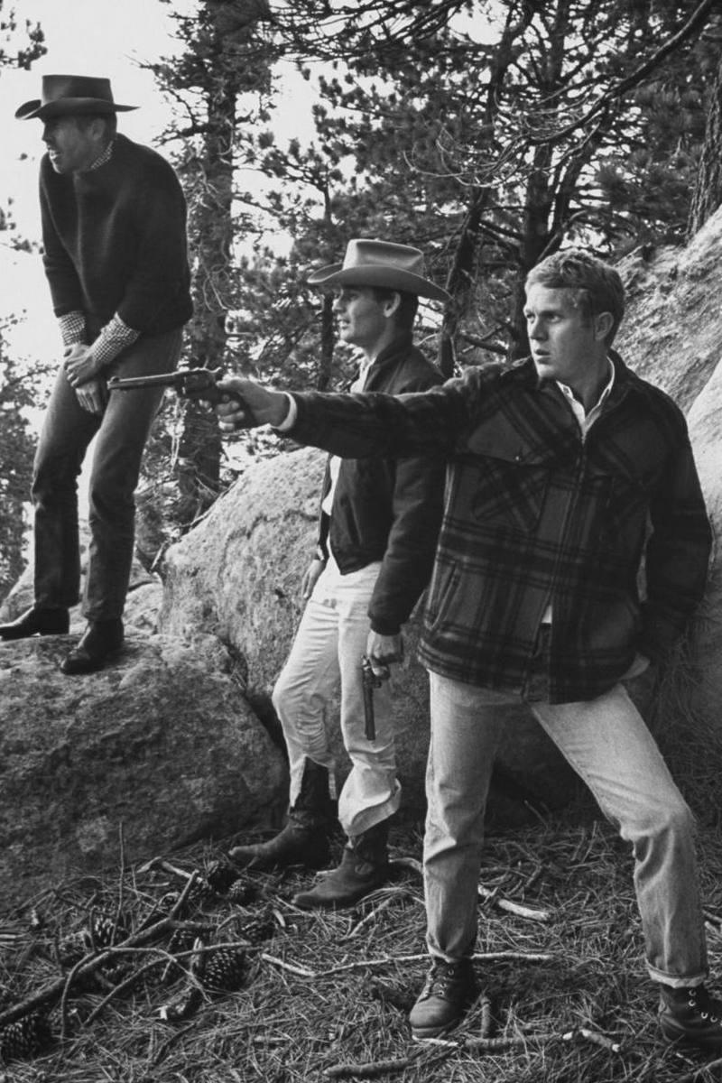 Steve McQueen - John Dominis (1963) camping trip 06