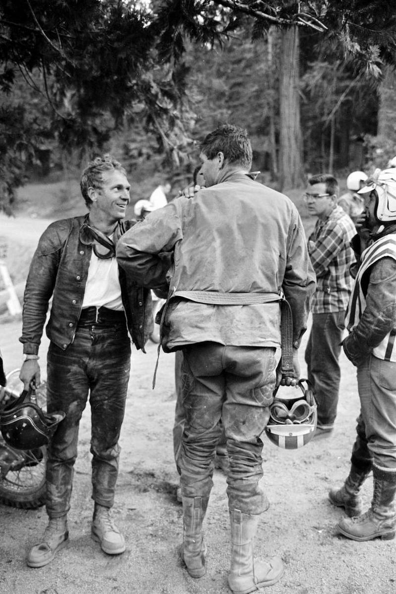 Steve McQueen - John Dominis (1963) motorcycle racing 05