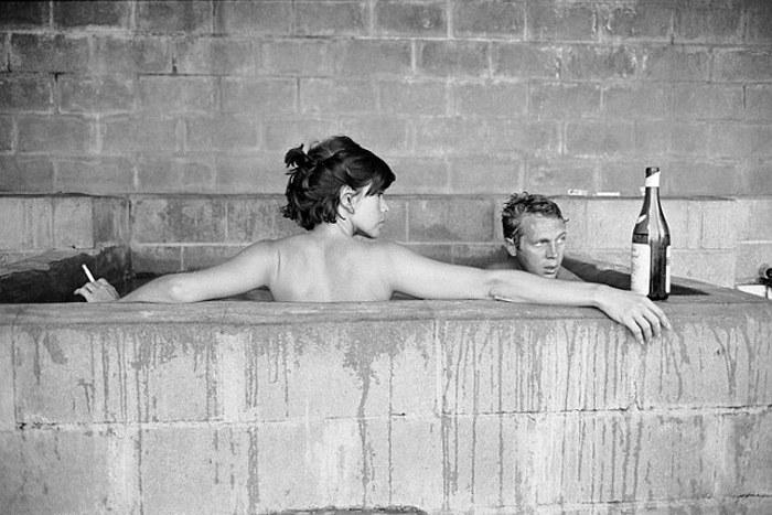 Steve McQueen - John Dominis (1963) sulphur bath 02