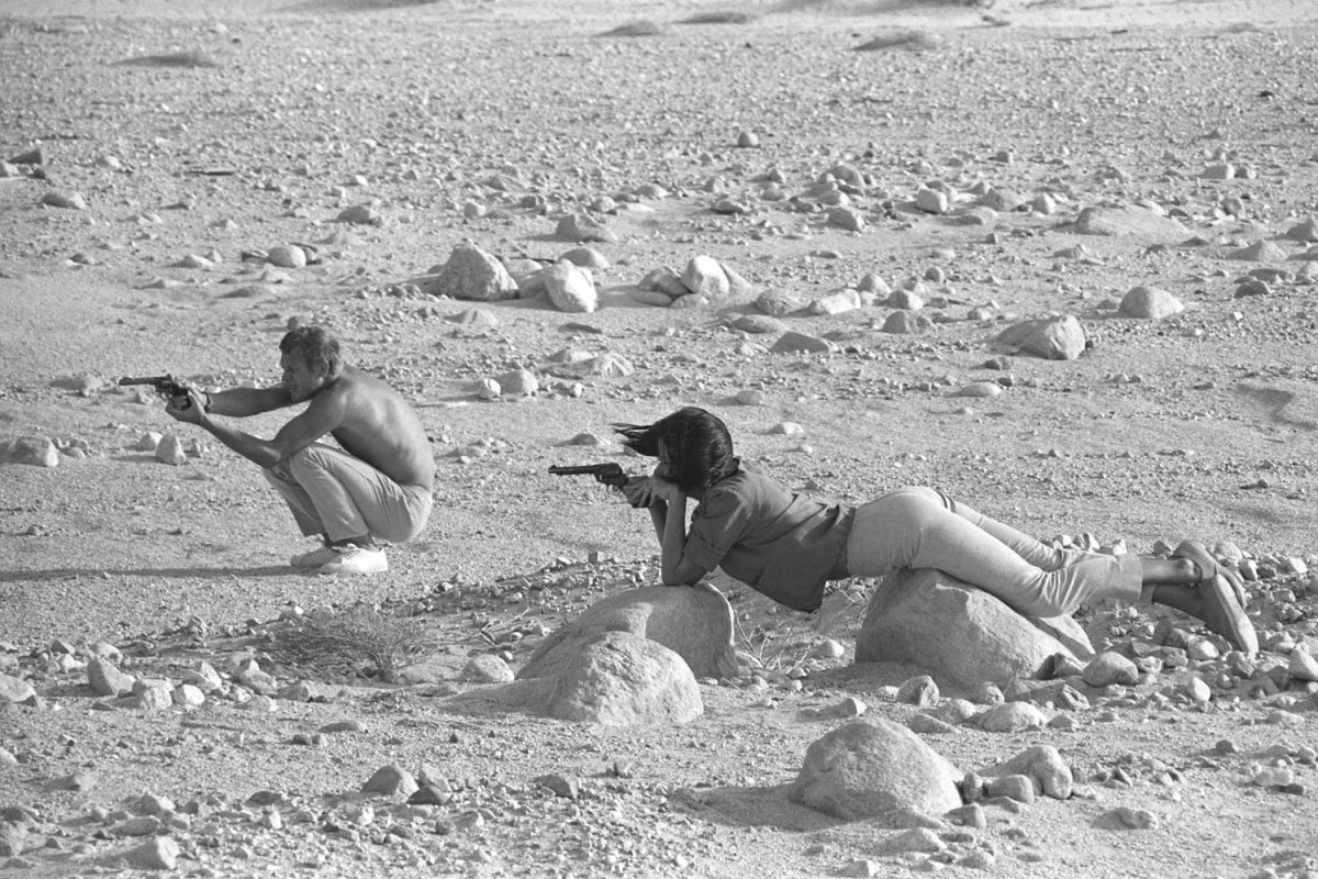Steve McQueen - John Dominis (1963) target practice 02