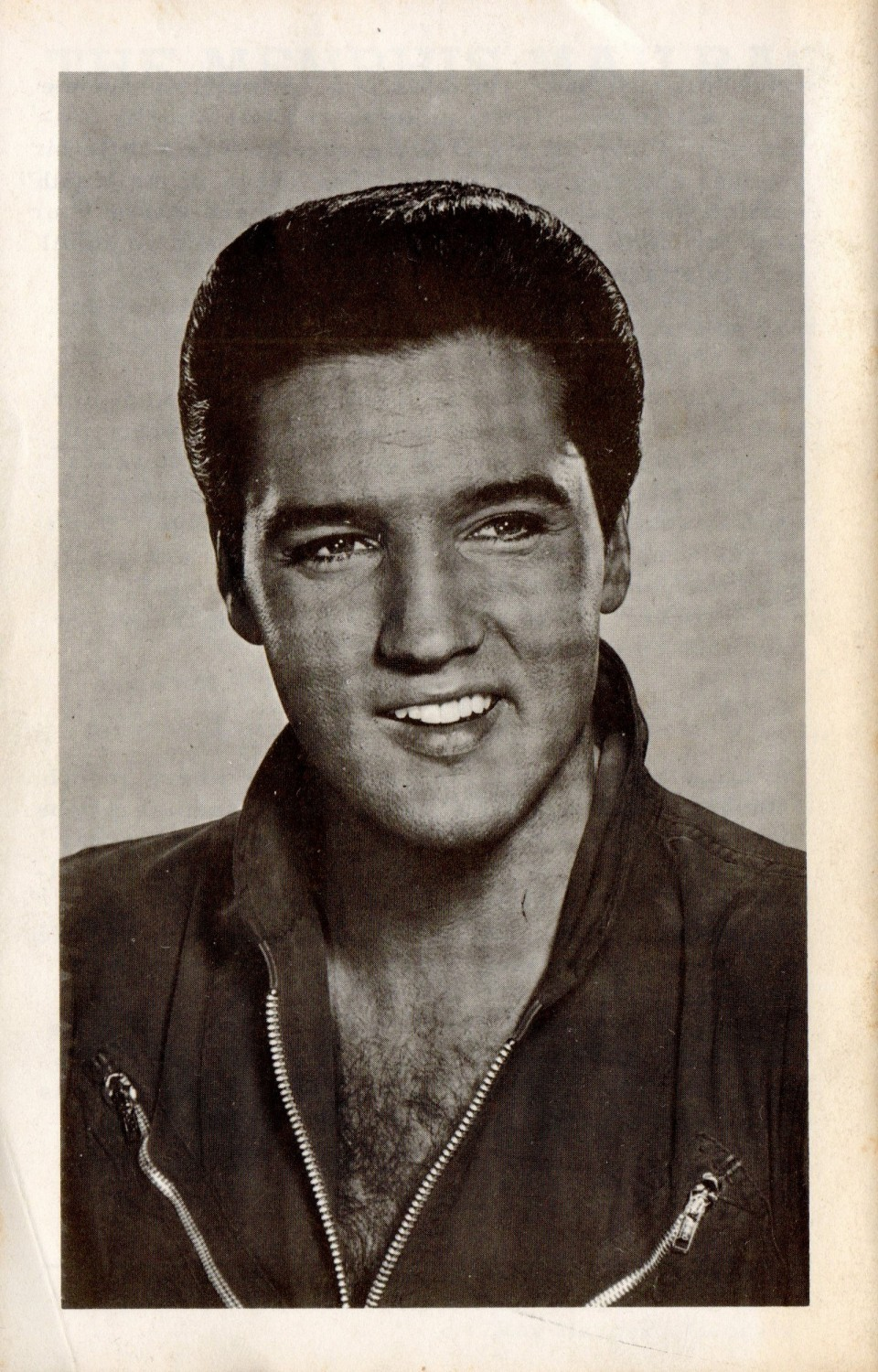 Strictly Elvis No 5 (September 1968) 36 back