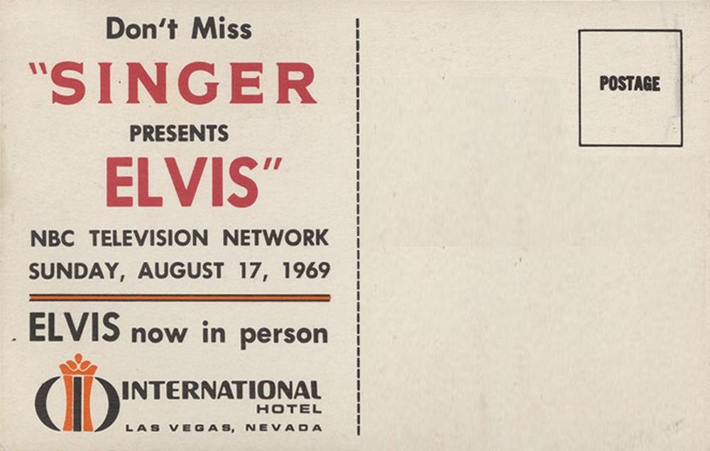 Promotional Postcard back