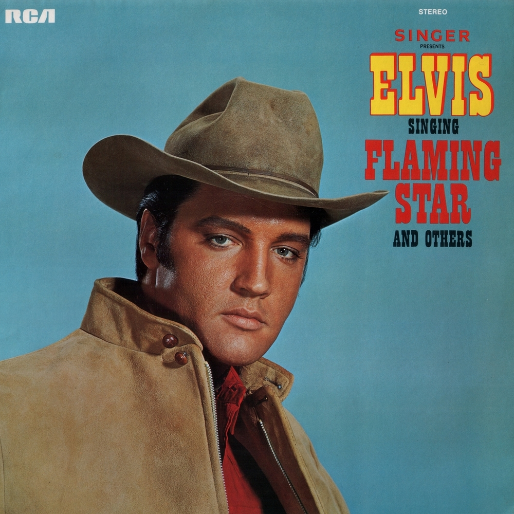 Singer Presents Elvis Singing Flaming Star