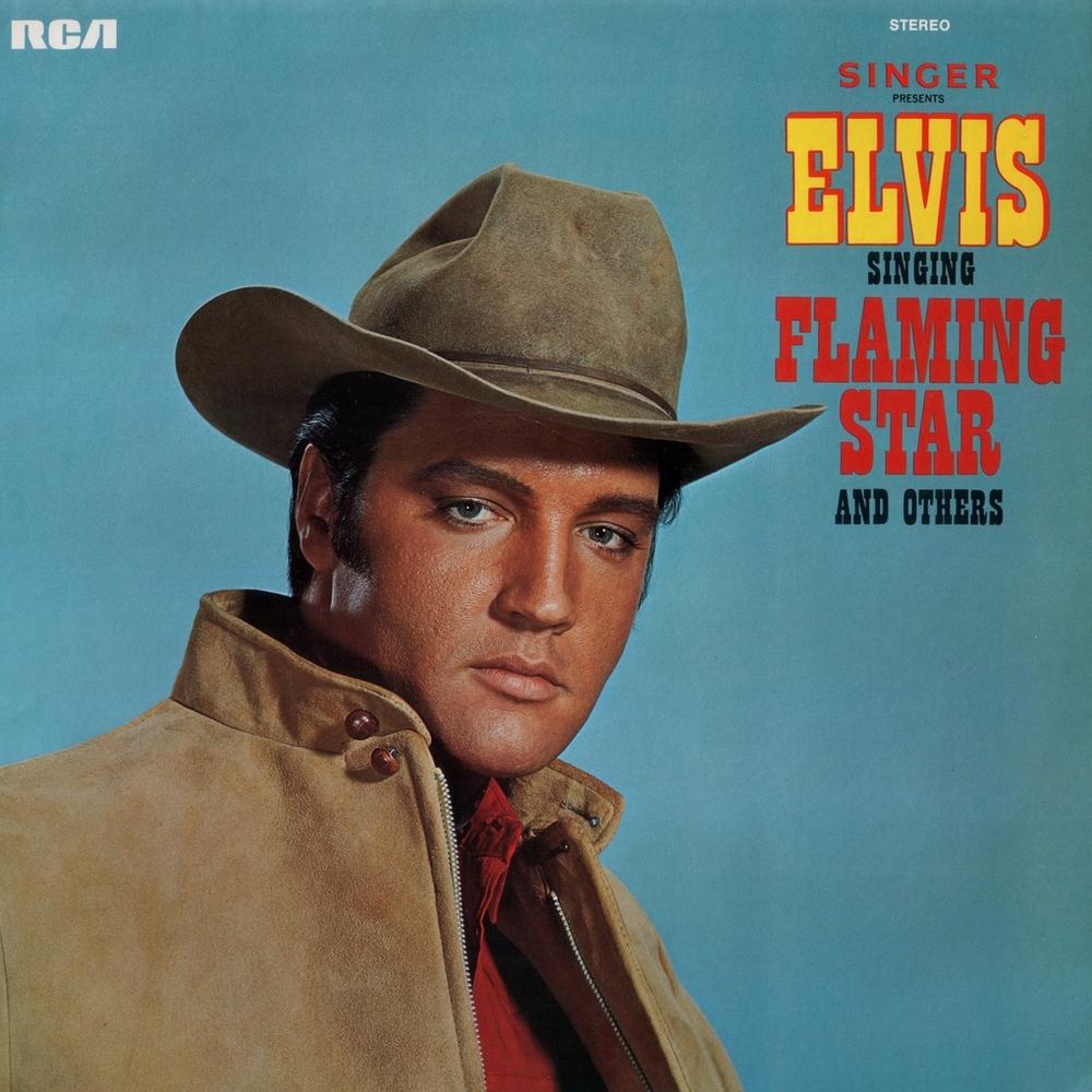 Singer Presents Elvis Singing Flaming Star