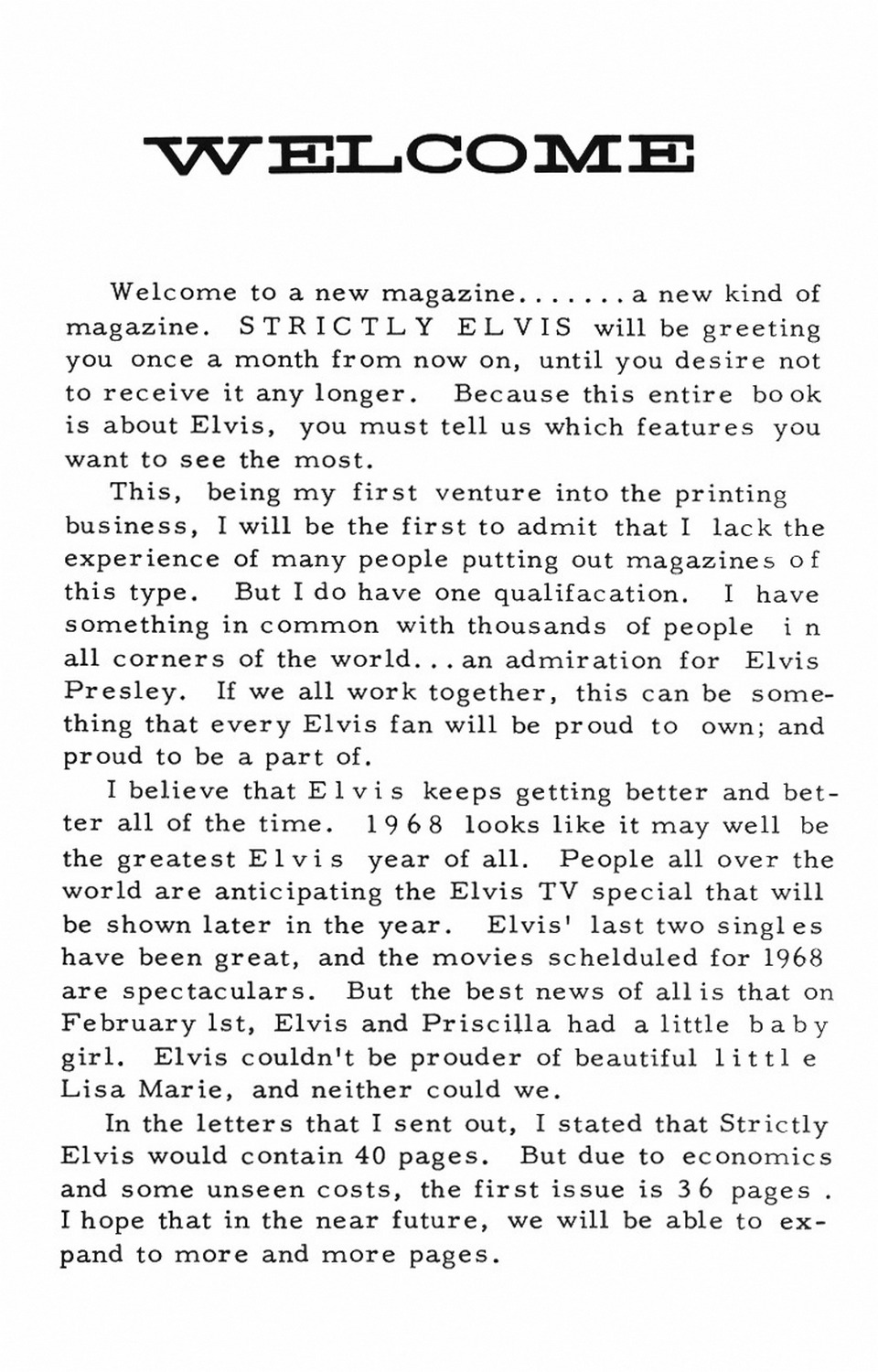 Strictly Elvis No. 1 May 1968 02