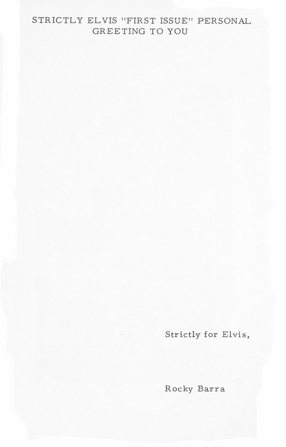 Strictly Elvis No. 1 May 1968 34