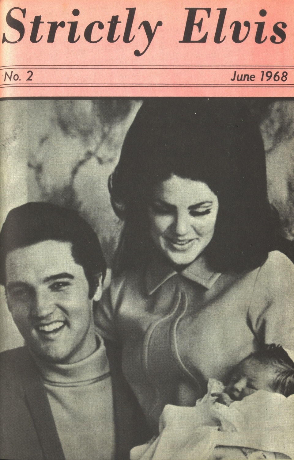 Strictly Elvis No. 2 June 1968 01