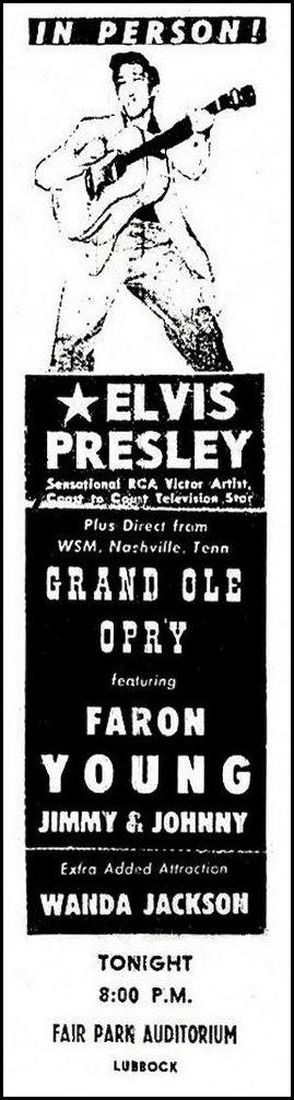 1956-04-10 Fair Park Coliseum, Lubbock, TX