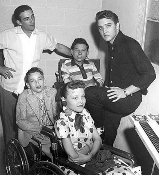 1956-04-10 With Faron Young (Fair Park Coliseum, Lubbock, TX)