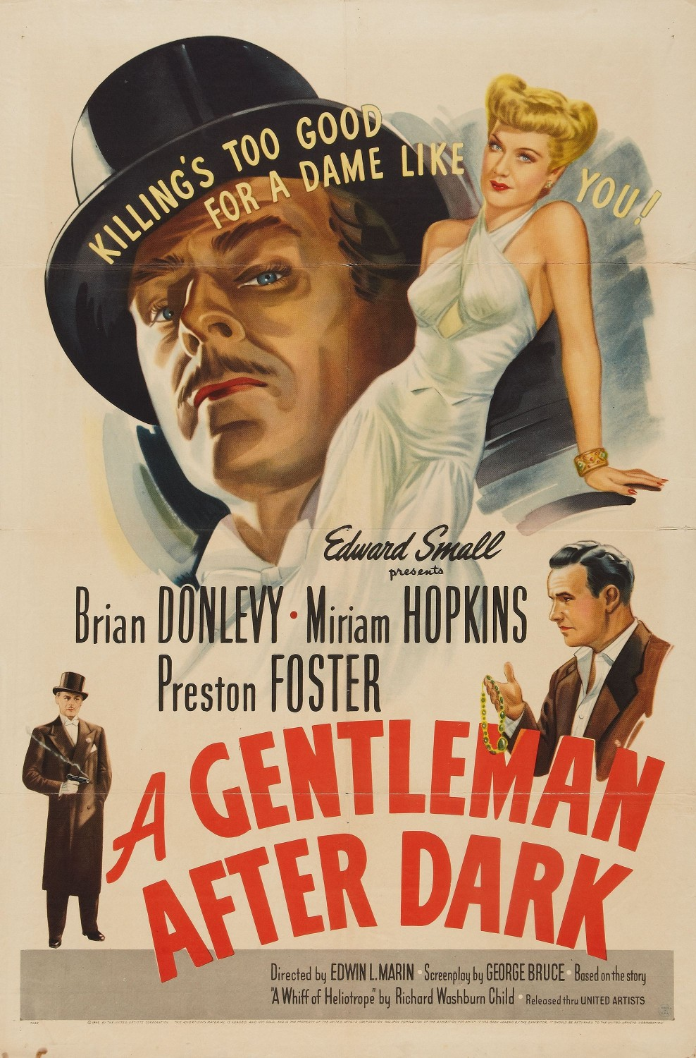 A Gentleman After Dark (1942)
