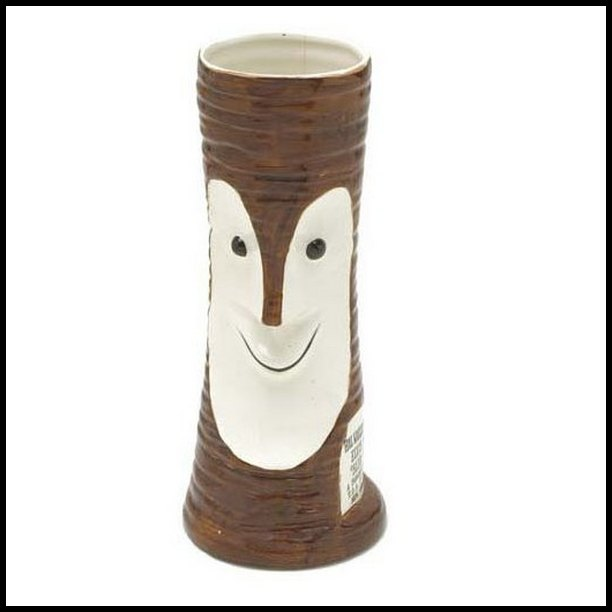 Blue Hawaii Tiki Mug given out on opening night in New Orleans (1961) 01
