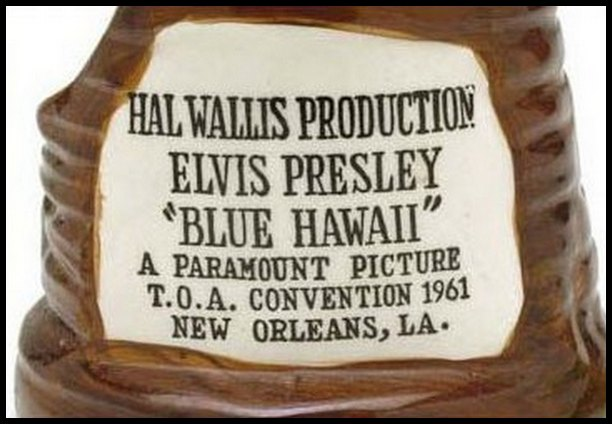 Blue Hawaii Tiki Mug given out on opening night in New Orleans (1961) 02