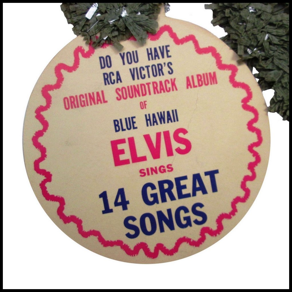 Blue Hawaii - USA promotional leis (1961) 06