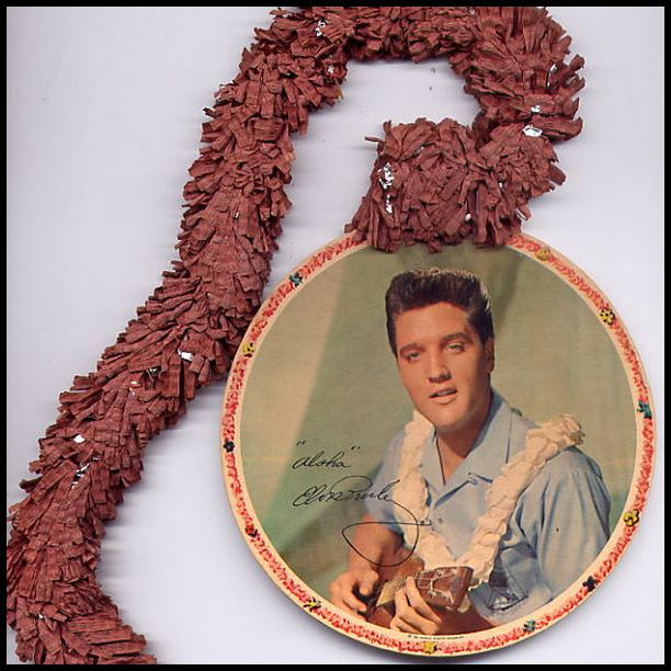 Blue Hawaii - USA promotional leis (1961) 07