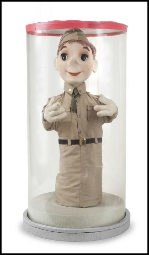Bob Baker GI Blues puppet 2