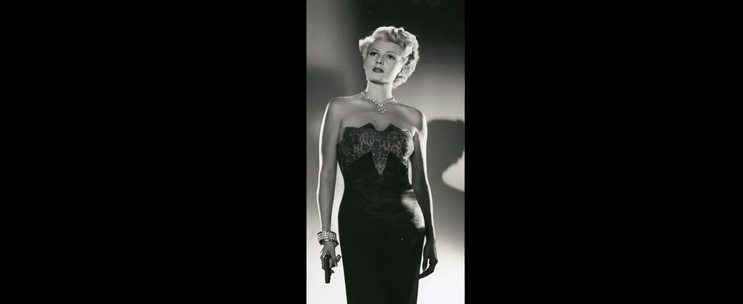 Deadly Is The Female END BANNER (Rita Hayworth in Lady From Shanghai)